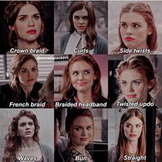 Lydia always had bomb ass hair