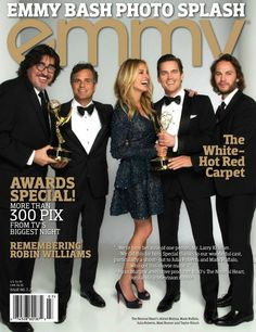 Alfred Molina - Cast of The Normal Heart Cover Emmy Magazine