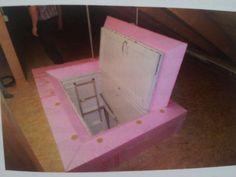 Dachbodentreppe dämmen