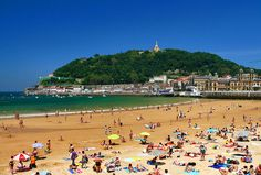The Seaside Elegance and Beautiful Beach of La Concha San Sebastian