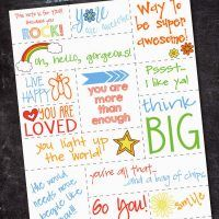 Free Printable Random Acts of Kindness Notes