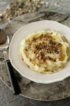 Giant Bean Skordalia with Spicy Nuts | Greek Food - Greek Cooking - Greek Recipes by Diane Kochilas
