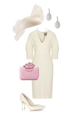 """HRH Princess Jessica Attends a Service of Thanksgiving for the Queen's 90th Birthday"" by jessica-spagnuolo ❤ liked on Polyvore featuring Lela Rose, Nancy Gonzalez, rag & bone/JEAN and Links of London"