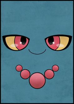 #200 Misdreavus - Pokemon Poster Second Generation Art Print by Jorden Tually Art | Society6