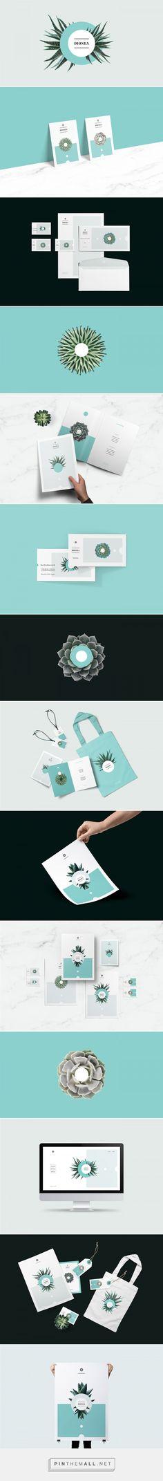 Dionea Branding by Przemek Bizori   Fivestar Branding Agency – Design and Branding Agency & Curated Inspiration Gallery