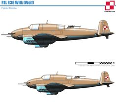 "PZL P - 38 ""Wilk"""