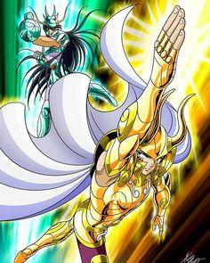 Shiryu vs Shura