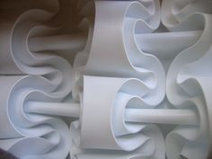 Paper Sculpture: Curves Iterated by polyscene, via Flickr