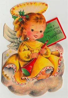 vintage angel greeting cards - Google Search