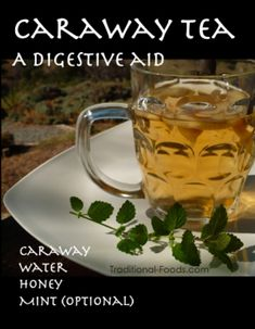 Caraway seed is an ancient remedy for digestive problems, bronchitis, and even colic. Warm tea itself tends to help digestion, but the properties of the caraway seed bring added benefit. The best way to experience the benefit is through tea which is simple to make at home if you have caraway seeds on hand.