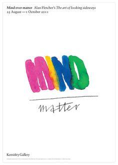 Alan Fletcher - Mind Matter Poster