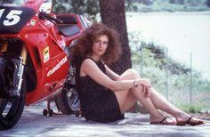 CAGIVA MITO 125 : Francesca Romana Giordano , Cagiva Mito racer .