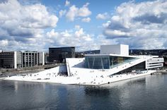 Mies van der Rohe architecture prize, the Oslo Opera House