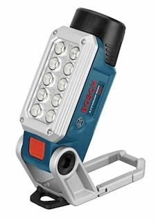 Cables & Lights: Bosch 12V Max FL12 LED worklight - Contractor Supply Magazine