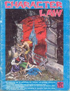 Original Character Law rules manual
