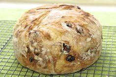 The Café Sucré Farine: Cranberry Pecan Artisan Bread - Another 5 Minute Bread!