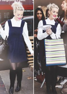 Perrie Edwards: I'm not gonna lie I actually dig this outfit especially for the winter :))