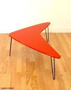 Booma-mid coffee table Mid Century Atomic Eames Era
