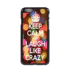 KARJECS iPhone 6 Case Cover Keep Calm and Laugh Like Crazy Pattern Hard Case Cover Skin for iPhone 6 KARJECS http://www.amazon.com/dp/B013UACTRI/ref=cm_sw_r_pi_dp_u8R1vb18PEPSX