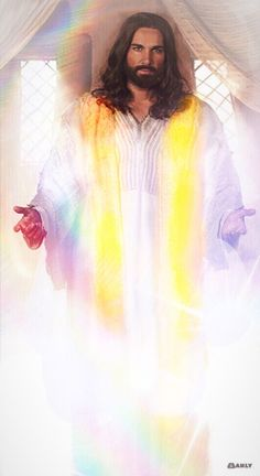 Jesús De Nazaret Messiah😍 This is what I think of when I read about the white cloak in The Revelation Jesus Our Savior, Jesus Art, King Jesus, Jesus Is Lord, Pictures Of Jesus Christ, Religious Pictures, Jesus Loves Us, Christian Pictures, Jesus Painting