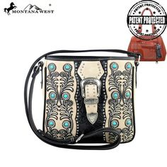 MW221G-8395 Montana West Concealed Handgun Collection Handbag - New Arrival