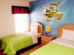 Bedroom 6: Peter Pan theme