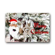 New Arrival Christmas Doormats Christmas Tree Snow Star Xmas Decorations  Custom Personalized Durable Machinewashable Indooroutdoor Door