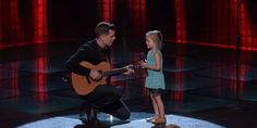 """Chances are you've already heard of LDS dad Dave Crosby and his 4-year-old daughter Claire. The two have been creating viral videos for over a year now. This week, Crosby auditioned for NBC's The Voice, a competition singing show where contestants start off with """"blind auditions"""" where the judges don't see them, but only hear …"""