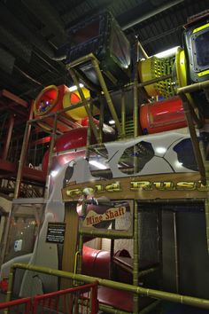 Adventure Park USA - The Western-themed facility consists of a building with an arcade of 85 redemp¬tion and video games from Central Vending, a custom-made International Play Company of Canada soft play indoor playground called Gold Rush. Playground Design, Outdoor Playground, Indoor Play Equipment, Arcade Room, Best Commercials, Soft Play, Toddler Play, Gold Rush, Kids Playing