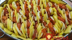 Živánska pochúťka z rúry: Čo spraví tá marináda s mäsom je jedným slovom fantázia, lepšia ako nedeľný rezeň! Pasta Salad, Cabbage, Lunch, Dinner, Vegetables, Ethnic Recipes, Crab Pasta Salad, Dining, Eat Lunch