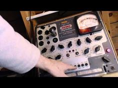 RCA Victor RC--1064 FIve Tube Radio Video #2 - Tube Testing fooled by 35...