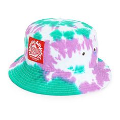 c35c533c7bd Milkcrate Tie Dye Bucket Hat ( 40) ❤ liked on Polyvore featuring  accessories