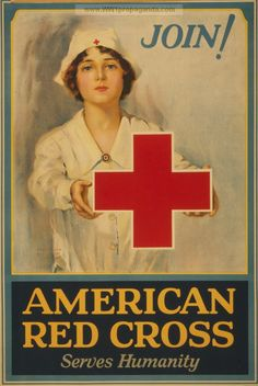 Examples of Propaganda from WW1   American Red Cross serves humanity Join!.