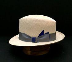 74c99d0f9ff Panama Hat New Straw Hand Made Fedora Size 7 1 8   57 cm