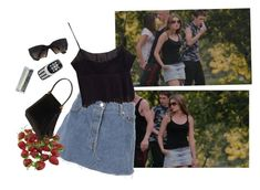 """""""vika"""" by silkwitch on Polyvore featuring Miu Miu, Nokia, Judith Leiber and Chanel"""
