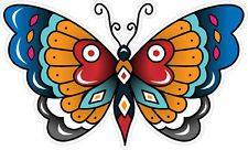 #340 Vintage Old School Tattoo Decal Classic Butterfly Sailor Jerry Style
