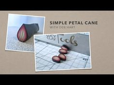 Simple Petal Cane - YouTube