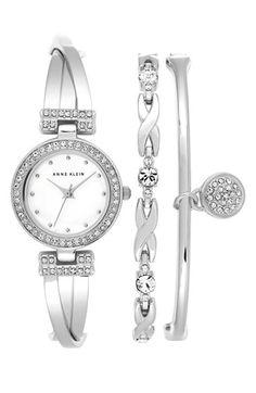 Women's Anne Klein Boxed Bracelet & Bangle Set,