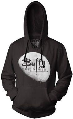 Buffy The Vampire Slayer Moon Logo Hoodie Sweatshirt (Small, Black) Buffy the Vampire Slayer http://www.amazon.com/dp/B00DR4TD1S/ref=cm_sw_r_pi_dp_zmR.tb0SXNAHT