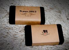 Convite Padrinhos e Madrinhas. Caixa aveludada e embalagem personalizada.