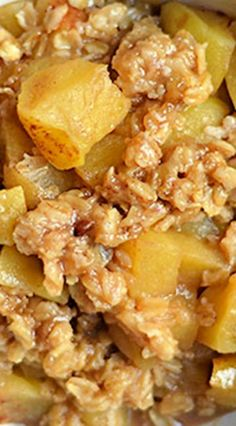 Instant Pot Apple Crisp                                                                                                                                                                                 More
