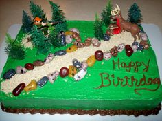 Deer Hunter Cake Cakes I Have Made Pinterest Cake Birthdays
