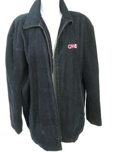 CNNSI Black Men's Jacket Built Tuff 26 Red Outerwear Coat size XL Rare #BuiltTuff26RedOuterwear #BasicJacket