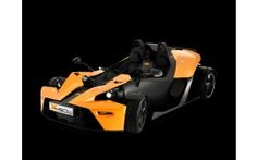 2008 ktm x bow front and side black background