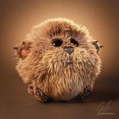 Plushy by Jarrod Hasenjager | Creatures | 3D | CGSociety