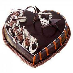 Chocolate Cakes, Chocolate Lovers, Valentine Chocolate, Cake Online, How To Make Cake, Valentines Day, Birthday Cake, Store, Desserts