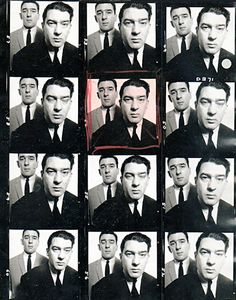 Proof Sheet Of The Kray Twins Photograph 1965 By David Bailey