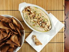 """White Bean Spread with Rosemary and Toasted Almonds from Heidi Swanson's """"Super Natural Every Day"""""""