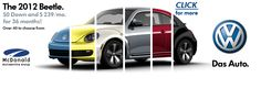 2012 Beetle at McDonald VW- still turning heads, only faster :-).  www.mcdonaldvw.com