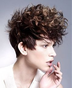 curly hair mohawk guys - Google Search